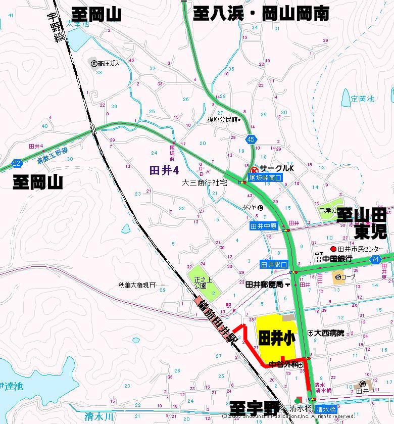 tai access map